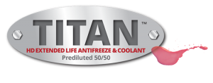 Titan heavy duty antifreeze coolant